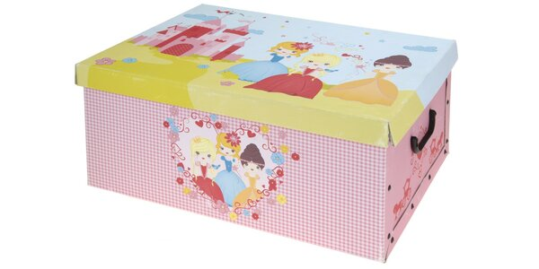 Úložné krabice na nezbytnosti s pěknými motivy