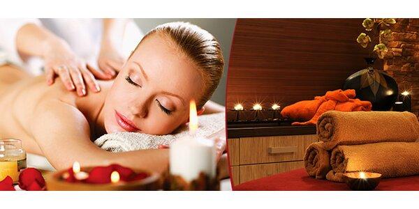 Celotělová relaxační masáž v Plzni