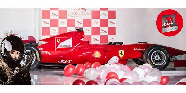 Zážitek na trenažéru Ferrari 150° Italia (1 jízda, 30 min či 60 min)