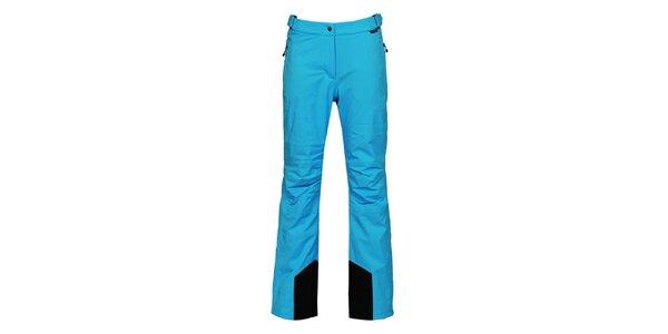 Dámské modré lyžařské kalhoty s membránou Bergson