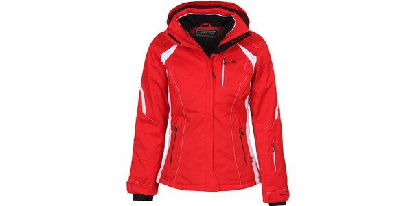 Dámská červená lyžařská bunda Bergson