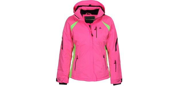 Dámská růžová lyžařská bunda Bergson