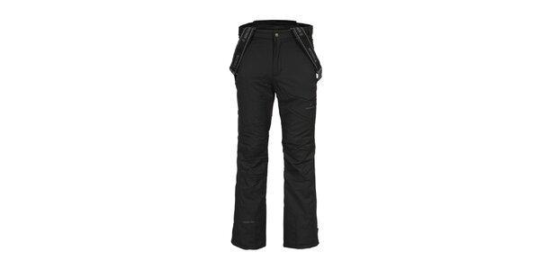 Pánské černé lyžařské kalhoty se šlemi Bergson