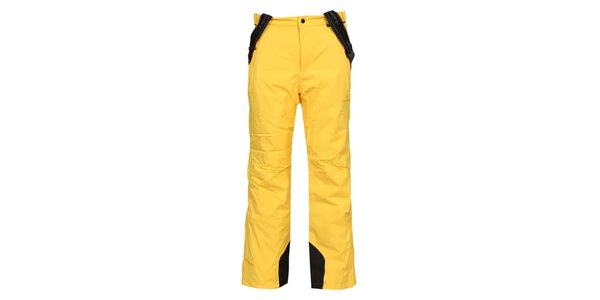 Pánské žluté lyžařské kalhoty Bergson