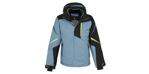 Pánská modro-černá lyžařská bunda Bergson