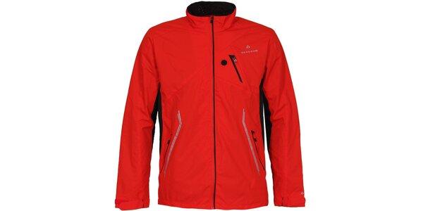 Pánská červená outdoorová bunda Bergson