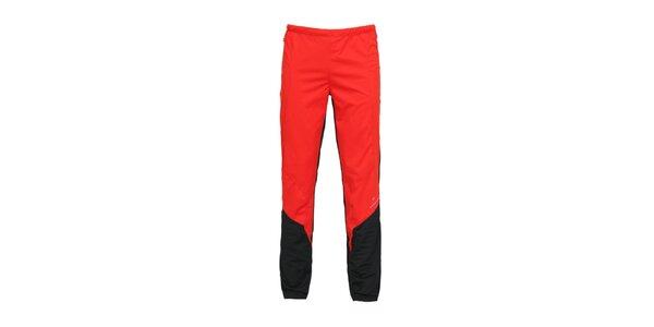 Pánské červené softshellové kalhoty Bergson
