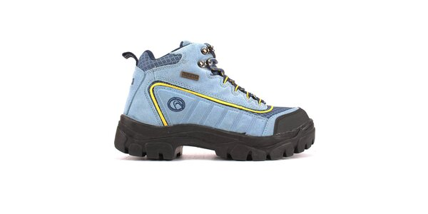 Dámské světle modré kotníkové boty Campri