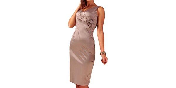 Dámské šaty s květinou Vera Fashion