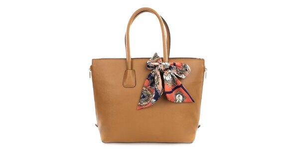 Dámská kabelka se šátkem Gessy