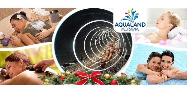 Celodenní vstupy do Aqualandu Moravia s možností úžasných procedur