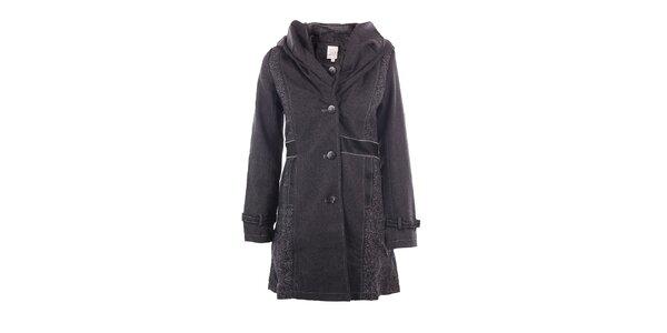 Dámský antracitový kabát DY Dislay Design