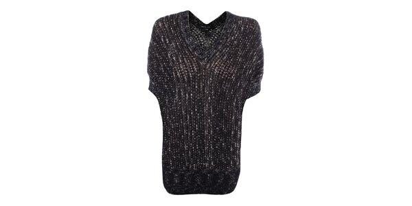 Dámský svetřík s černým žíháním Dislay DY Design