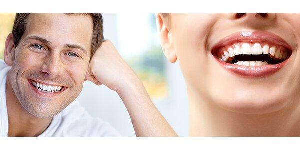 Profesionální bělení zubů americkým systémem Beyond
