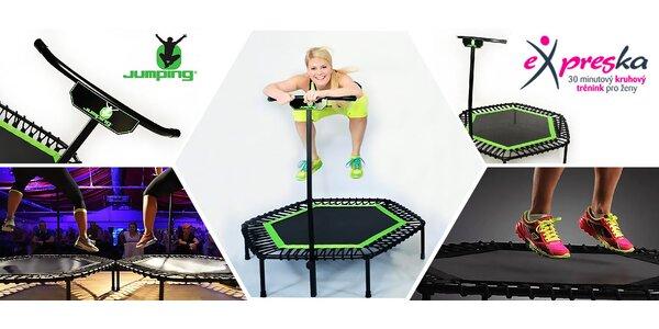 JUMPING® lekce na trampolínkách