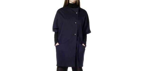 Dámský tmavě modrý kabátek s krátkým rukávem Gene