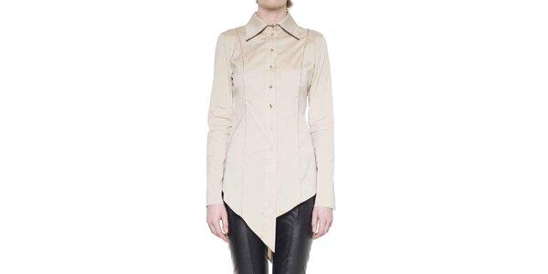 Dámská smetanová cípatá košile Gene