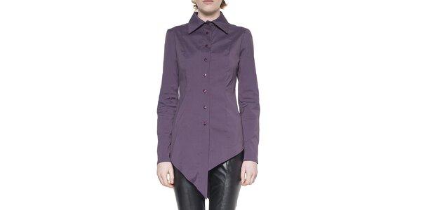 Dámská fialová cípatá košile Gene