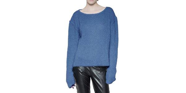 Dámský blankytně modrý svetr Gene