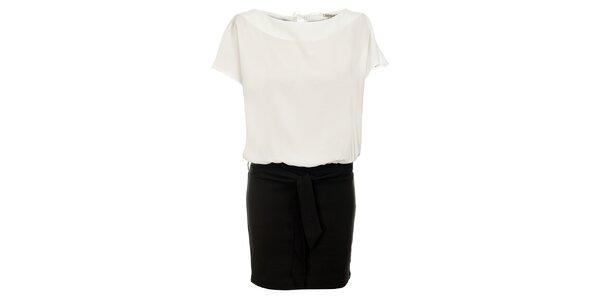 Dámské černo-bílé šaty Lucy Paris