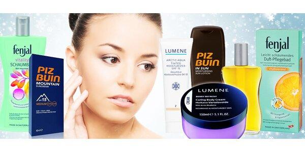 Pečující kosmetika nejen proti horskému slunci