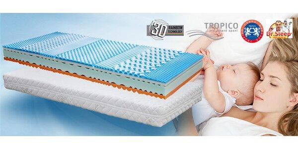 Rodinná matrace Tropico Soft Sleep. 1+1 zdarma
