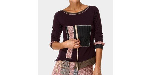 Dámské tričko ve fialovém odstínu Ian Mosh