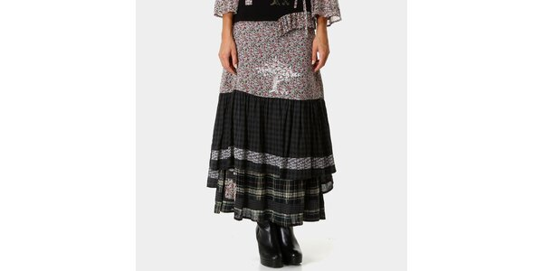 Dámská dlouhá vzorovaná sukně Ian Mosh