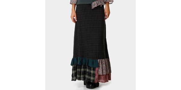Dámská dlouhá kostkovaná sukně Ian Mosh