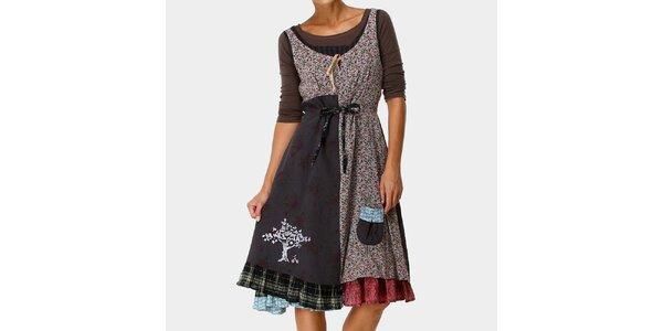 Dámské vzorované šaty a tričko Ian Mosh