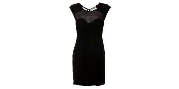 Dámské černé pouzdrové šaty Lucy Paris