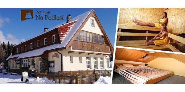 Relaxační pobyt na Šumavě v krásném penzionu Na Podlesí