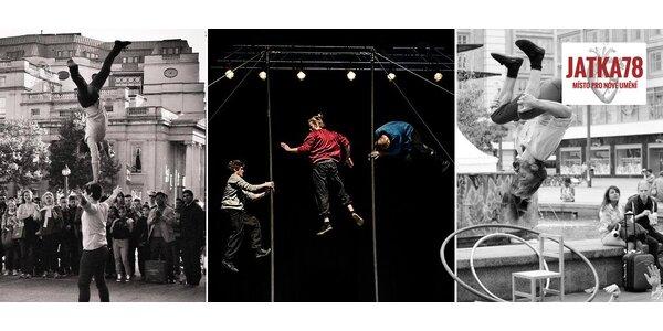 Vstupenky na nový cirkus na scéně Jatka78
