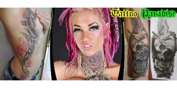 Originální tetování dle vašeho výběru či návrhu