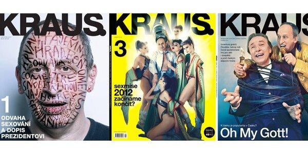Předplatné časopisu Kraus!