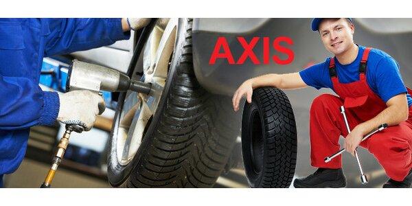 """Přezutí pneu vel. 13-18"""" či výměna kol"""