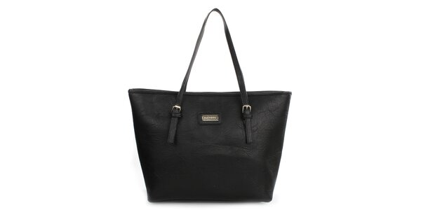 Dámská černá kabelka s dlouhými popruhy Kangol
