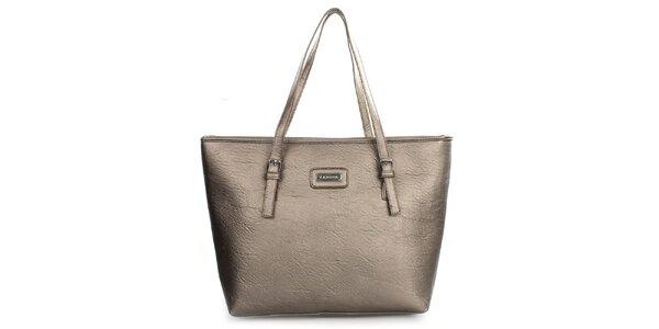 Dámská metalická kabelka s dlouhými popruhy Kangol
