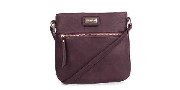 Dámská fialová menší kabelka přes rameno Kangol