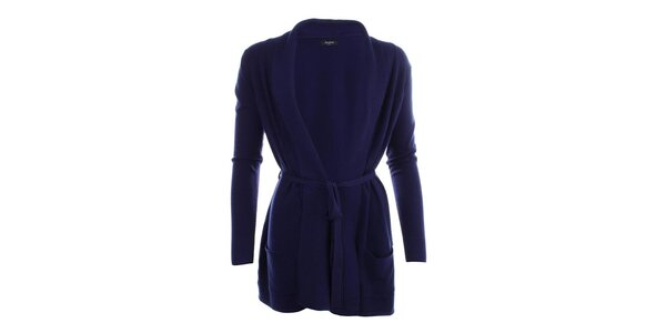 Dámský delší svetr v modré barvě Smiton