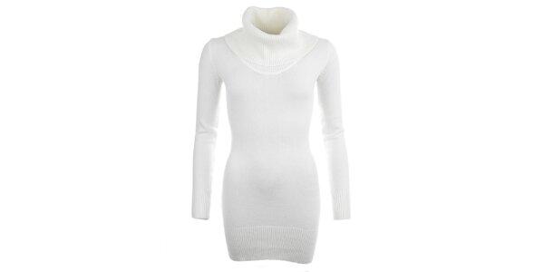Dámský krémově bílý svetr s rolákem Beauty Women