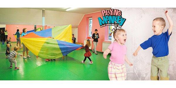 Baby Monkey – kurz cvičení pro děti
