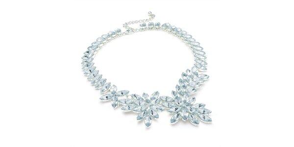Dámský náhrdelník se světlými krystaly Carmen Luna