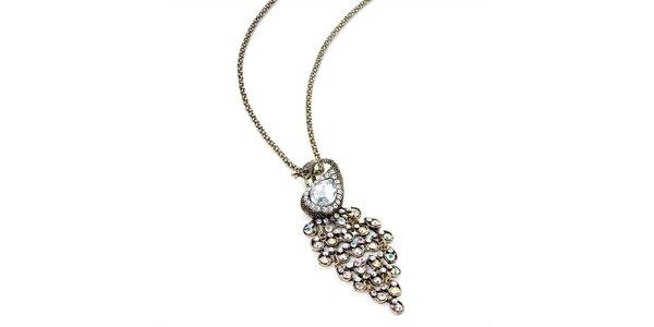 Dámský náhrdelník s pávem Carmen Luna