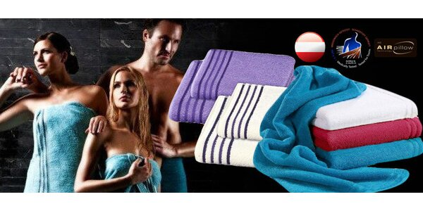 3 nebo 6 ručníků Vossen Premium Deluxe