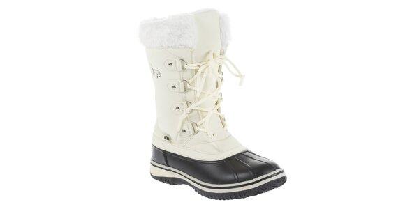 Dámské bílé zimní boty Vertigo