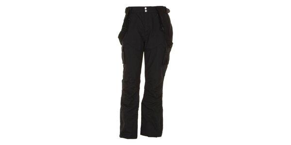 Pánské černé lyžarské kalhoty se šlemi E2ko