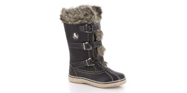 Dámské zimní boty s kožíškem E2ko