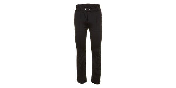 Dámské lyžařské softshellové kalhoty v černé barvě E2ko