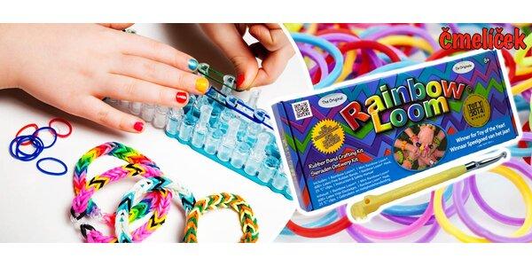 Originální Rainbow Loom z USA (600 gumiček i stav)
